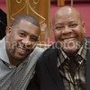 Pastors Xavier L. Thompson and Rodney Howard