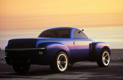 Chevy Truck SSR Concpet   Chevrolet SSR Concept Vehicle