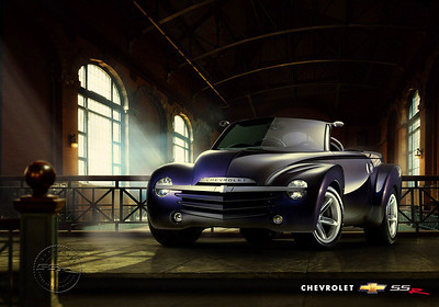 Chevrolet SSR Poster/Post Card. (X00CT_CC11)