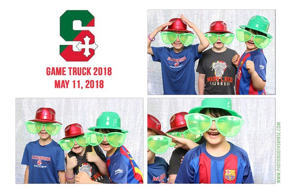 St. Stephen's & St. Agnes School Game Truck 2018 Photo Booth