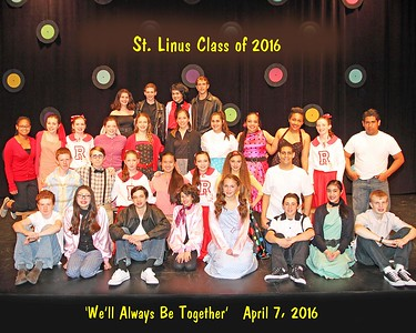 """ST. LINUS CLASS OF 2016  -  """"We'll Always Be Together""""  April 7, 2016  (166 Photos)"""