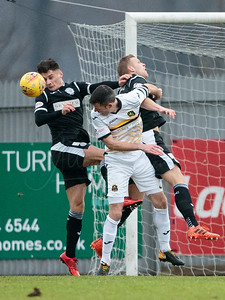 13/01/18 LADBROKES CHAMPIONSHIP  DUMBARTON V ST MIRREN (0-2) CHEAPER INSURANCE DIRECT STADIUM - DUMBARTON