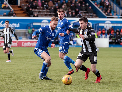 17/03/2018 LADBROKES CHAMPIONSHIP QUEEN OF THE SOUTH V ST MIRREN (1-3) PALMERSTON PARK - DUMFRIES
