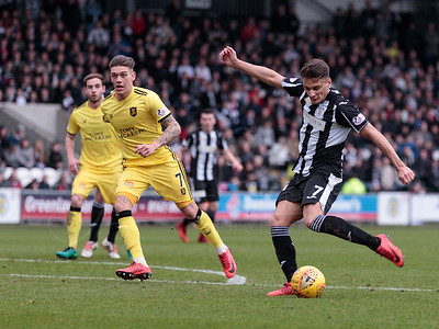 14/04/18 LADBROKES CHAMPIONSHIP ST MIRREN v LIVINGSTON (0-0) THE PAISLEY 2021 STADIUM - PAISLEY