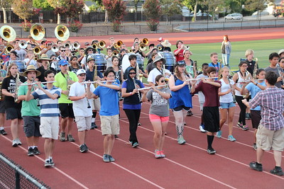 2015-08-04 Evening Band Camp Practice