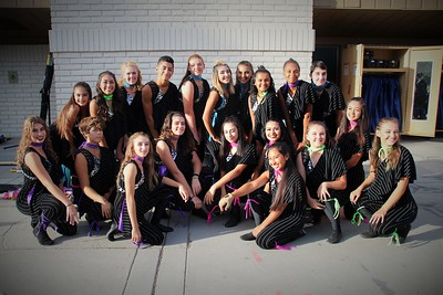 2016-10-07 ST Football Pep Band and Performance