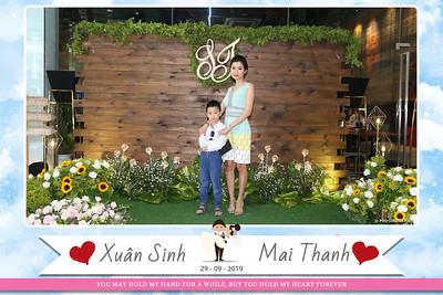 Xuân Sinh & Mai Thanh Wedding instant print photo booth @ CAPELLA Gallery Hall |  Chụp ảnh in hình lấy liền Tiệc cưới tại TP. Hồ Chí Minh | Photobooth Saigon
