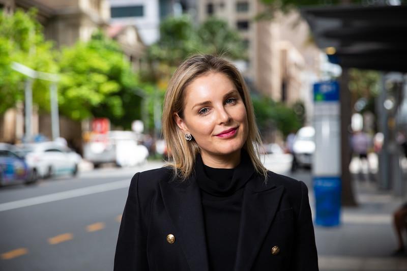 Holly Tattersall UQ MBA student. 04 Mar 2019, Brisbane. Photo: Attila Csaszar