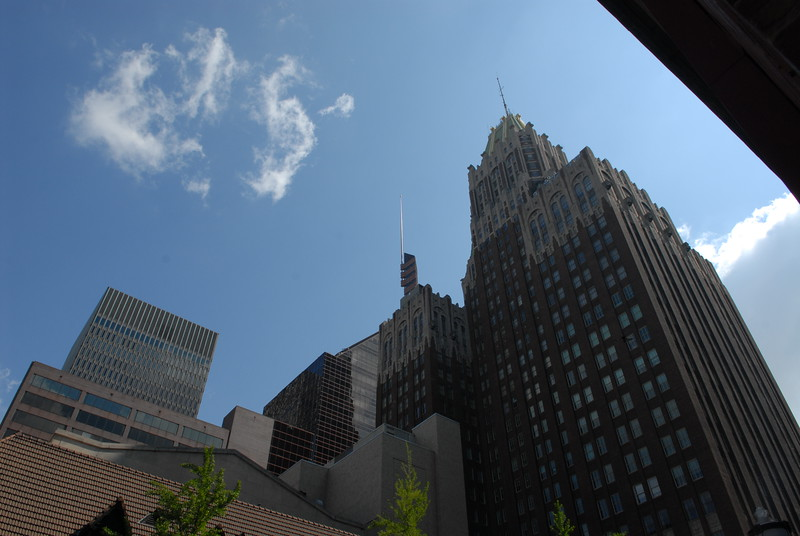 Baltimore Trust building, now 10 Light Street, adjacent to 1960s skyscrapers