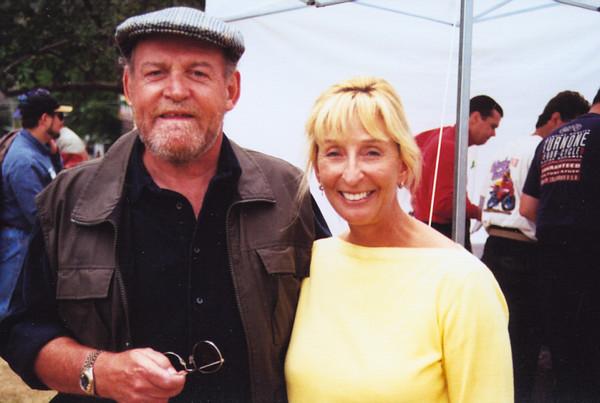 Joe Cocker and wife Pam