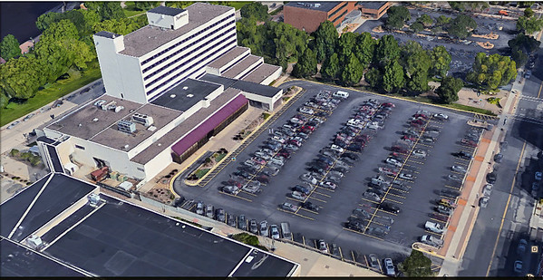 Aerial View of the Radisson