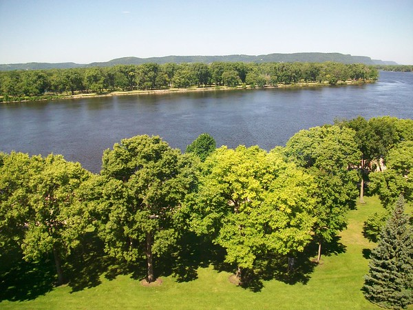 Hotel View of the Mississippi River