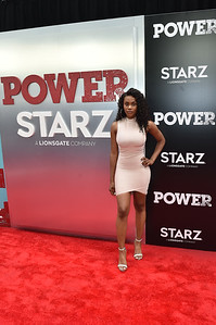 NEW YORK, NY - June 28:  Power Season 5 World Premiere at Radio City Music Hall on Thursday, June 28, 2018, in New York, NY, USA. (Photo by: Aaron J. / RedCarpetImages.net)