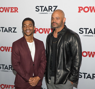 NEW YORK, NY - AUGUST 20: STARZ Power Season 6 Premiere red carpet at Madison Square Garden on August 20, 2019 in New York, NY, USA.  (Photo by : Mike Ware / RedCarpetImages.net)