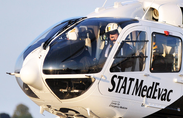 STAT MedEvac's at AGC JUly 15th