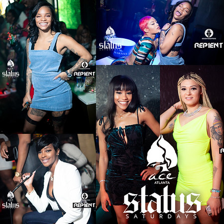 STATUS SATURDAYS @ ACE  WITH  CHARLIE B HUSTLE AND FRIENDS