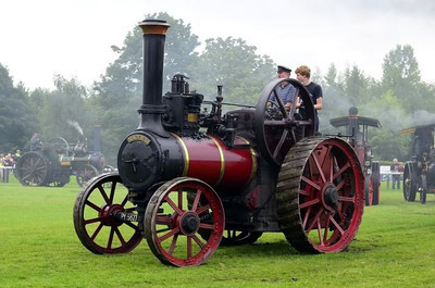 STEAM TRACTION ENGINES , ROAD ROLLERS, STEAM ENGINES .