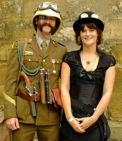 ''THE ASYLUM'', STEAMPUNK-LINCOLN, 13th SEPTEMBER 2014