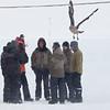 Forskere i Antarktis med sørjo, Novo, DML