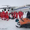 """IL-76 i Antarktis, Novolazarevskaya """"Novo"""" er drevet av Russland"""
