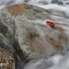 varanger, finnmark, rød stein