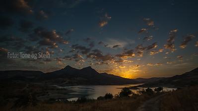 Sunrise in Andalucia, Spain
