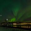 Nordlys, Aurora borealis, Balsnes, Tromsø, Norway