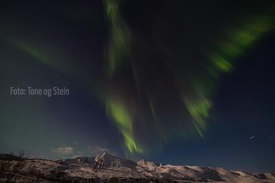 NORDLYS, aurora borealis, vannøya, kristoffervalen