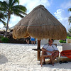 Beach -2<br /> Enjoying in the shade of the palapa...