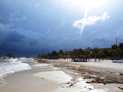 Beach -4 Rain is coming...
