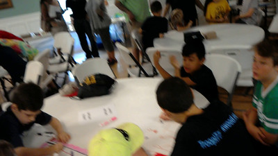 Team flag making 2