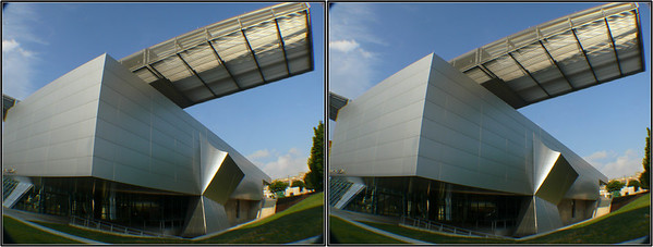 Akron Museum of Art (Stereo Pairs)