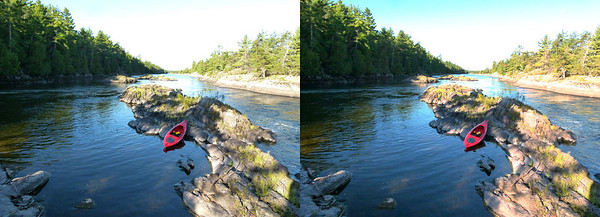 Canoeing the French River, Ontario September 2011