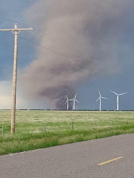 Logan County Sheriff's Office video of tornado near Peetz.
