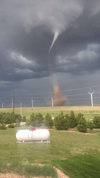 Photo from Kali Michaels, 7 miles west of Peetz near Peggy and Kevin Michaels' house