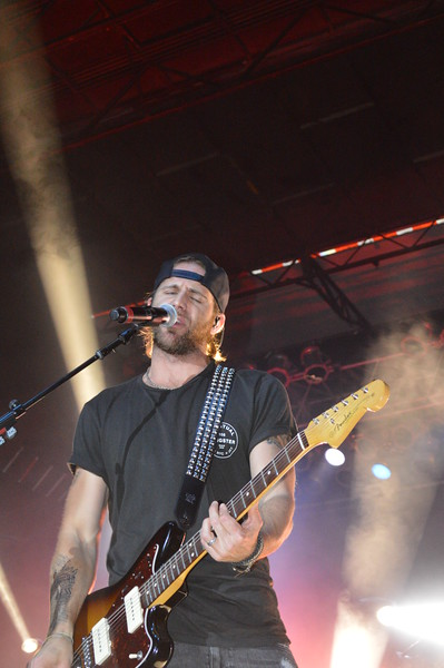 """Canaan Smith sings """"We Got Us"""" during the Logan County Fair night show Saturday, Aug. 6."""