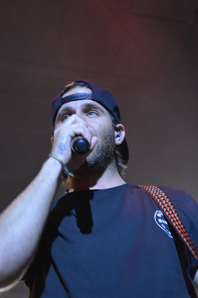 """Canaan Smith sings """"Love You Like That"""" during the Logan County Fair night show Saturday, Aug. 6."""