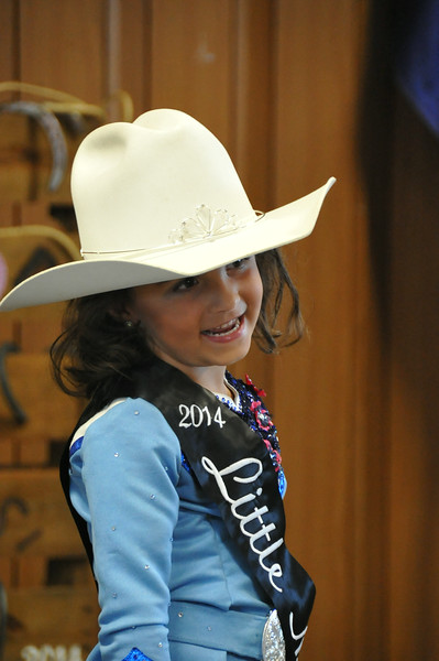 2014 Litte Miss Hayden Walker during the 2014 Logan County Royalty Contest Saturday, Aug. 2, 2014.