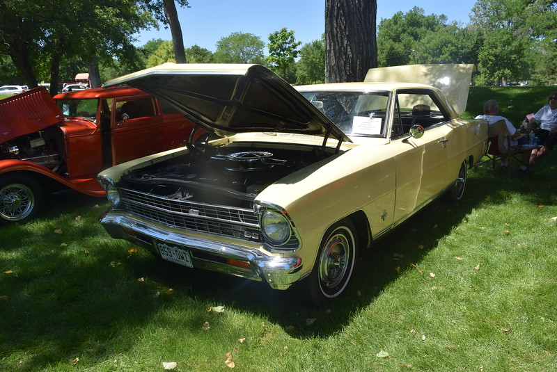 A 1967 Chevy Noca SS, owned by Walt Moore, of Montrose, was among the vehicles on display at Colorado Flatlanders 25th Annual Rod Run in the Park Saturday, July 9, 2016, at Pioneer Park.