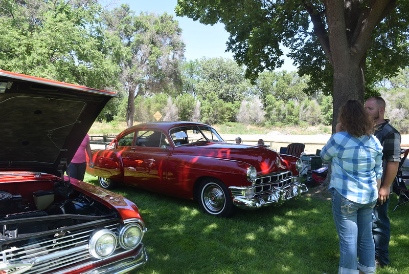 A variety of vehicles were display at Colorado Flatlanders 25th Annual Rod Run in the Park Saturday, July 9, 2016, at Pioneer Park.