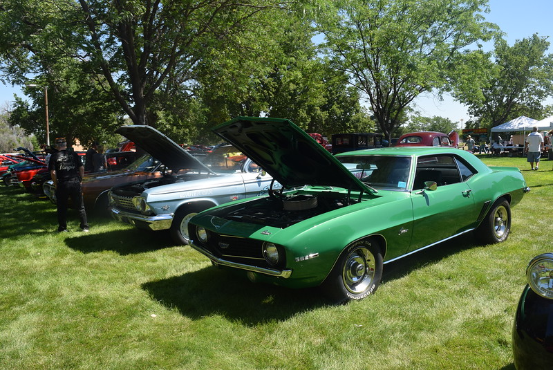 A variety of vehicles were on display at Colorado Flatlanders 25th Annual Rod Run in the Park Saturday, July 9, 2016, at Pioneer Park.