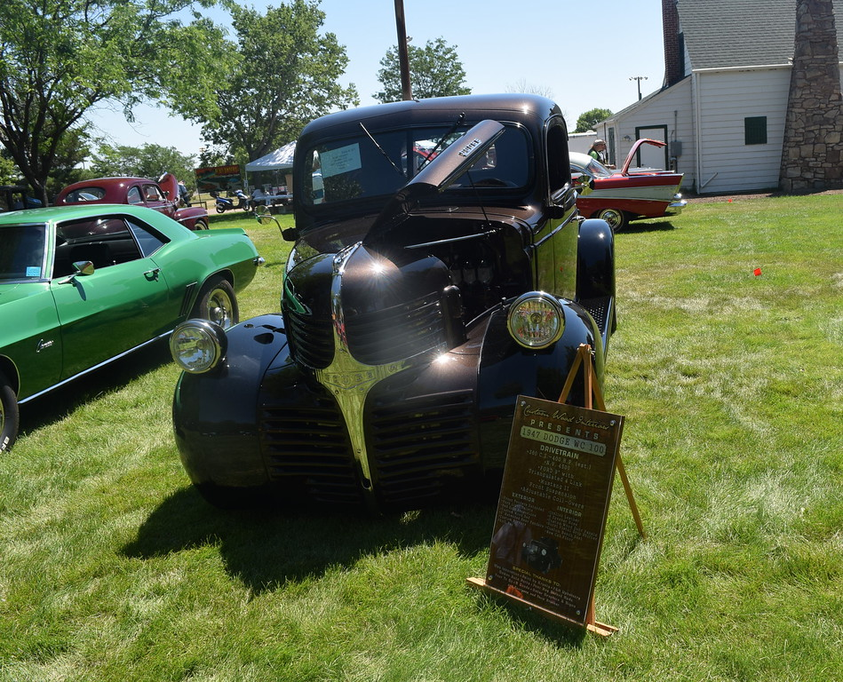 A 1947 Dodge WC 100, owned by Mark Winston, of Golden, was among the vehicles on display at Colorado Flatlanders 25th Annual Rod Run in the Park Saturday, July 9, 2016, at Pioneer Park.