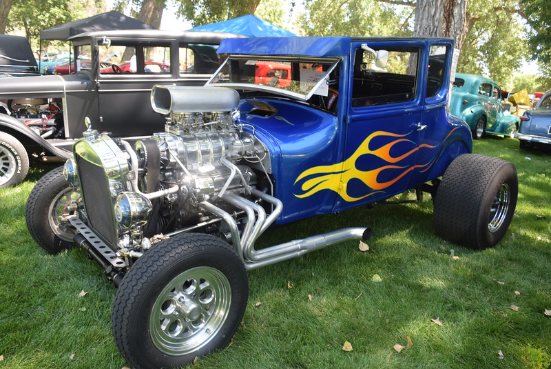 A 1926 Ford Model T, owned by Mike Swan, of Costa Mesa, Calif., was among the vehicles on display at Colorado Flatlanders 25th Annual Rod Run in the Park Saturday, July 9, 2016, at Pioneer Park.