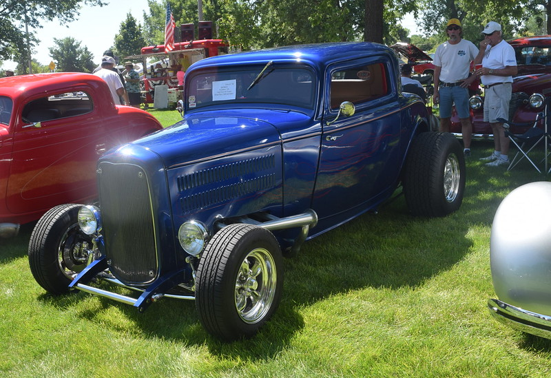 A 1932 Ford 3W Coupe, owned by Del Elehm, of Fort Collins, was among the vehicles on display at Colorado Flatlanders 25th Annual Rod Run in the Park Saturday, July 9, 2016, at Pioneer Park.