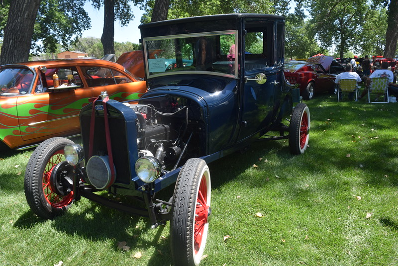 A 1927 Model T, owned by Micheal McCreary, of Henry, Neb., was among the vehicles on display at Colorado Flatlanders 25th Annual Rod Run in the Park Saturday, July 9, 2016, at Pioneer Park.