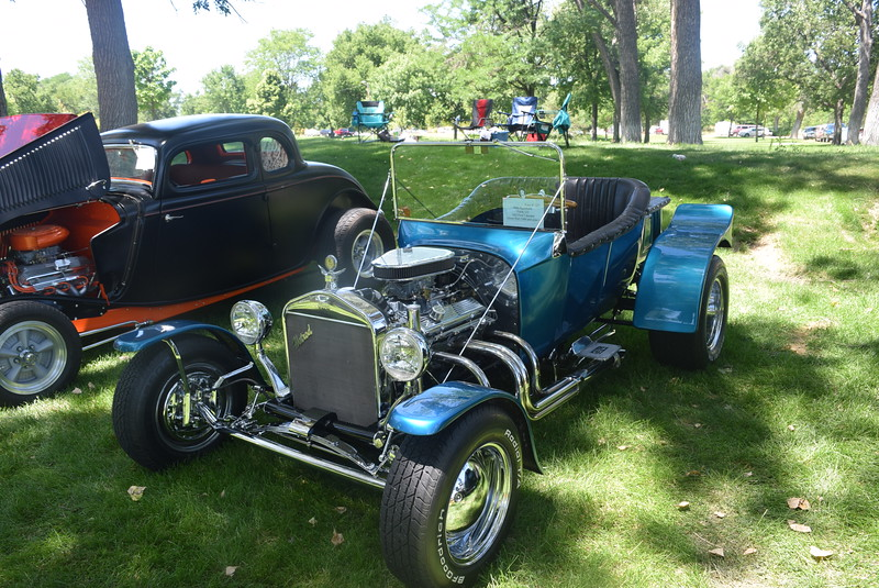 A 1923 Ford T-Bucket, owned by Kelly Appelhans, of Yuma, was among the vehicles on display at Colorado Flatlanders 25th Annual Rod Run in the Park Saturday, July 9, 2016, at Pioneer Park.