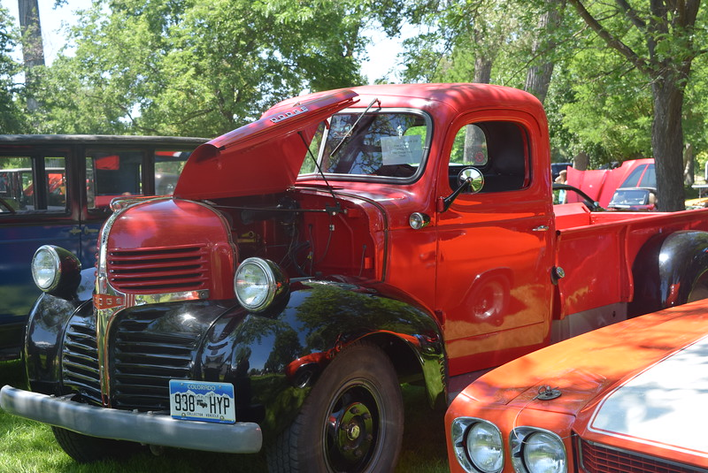 A 1947 Dodge 1-ton, owned by Max Jackson, of Sterling, was among the vehicles on display at Colorado Flatlanders 25th Annual Rod Run in the Park Saturday, July 9, 2016, at Pioneer Park.