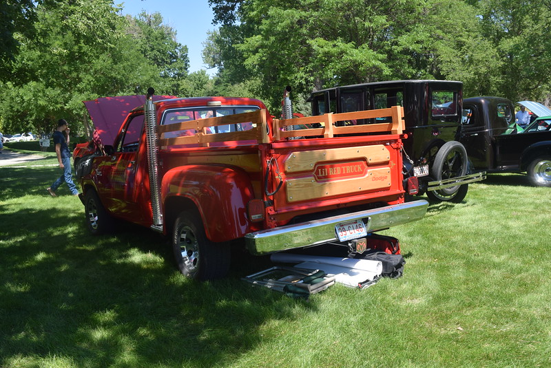 A 1979 Dodge Lil Red Express Truck, owned by John Phillips, of Sidney, Neb., was among the vehicles on display at Colorado Flatlanders 25th Annual Rod Run in the Park Saturday, July 9, 2016, at Pioneer Park.