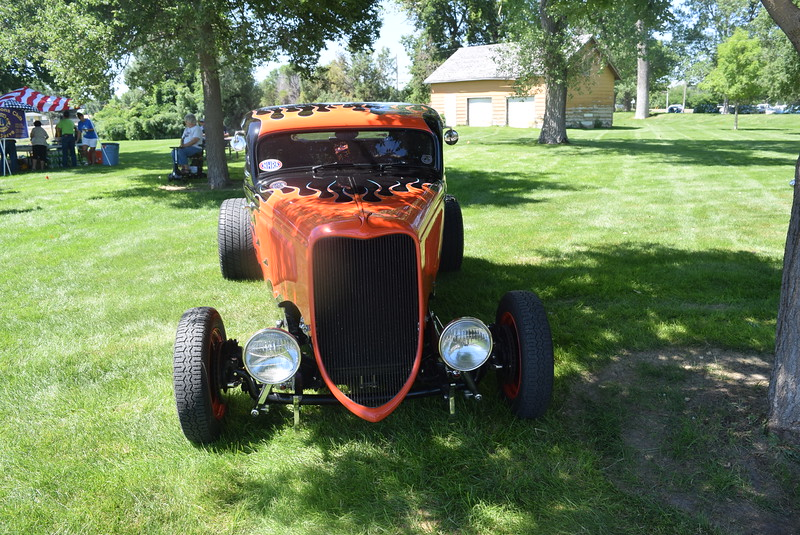 A variety of classic cars were on display at Colorado Flatlanders 25th Annual Rod Run in the Park Saturday, July 9, 2016, at Pioneer Park.