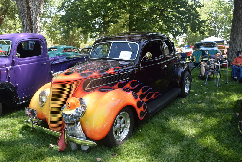 "A 1937 Ford Coupe, owned by John ""Kelly"" Howell, of Sterling, was among the vehicles on display at Colorado Flatlanders 25th Annual Rod Run in the Park Saturday, July 9, 2016, at Pioneer Park."